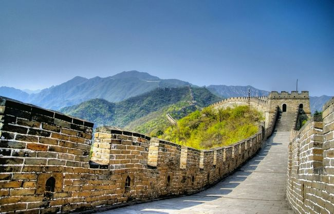 territorio cina - grande muraglia